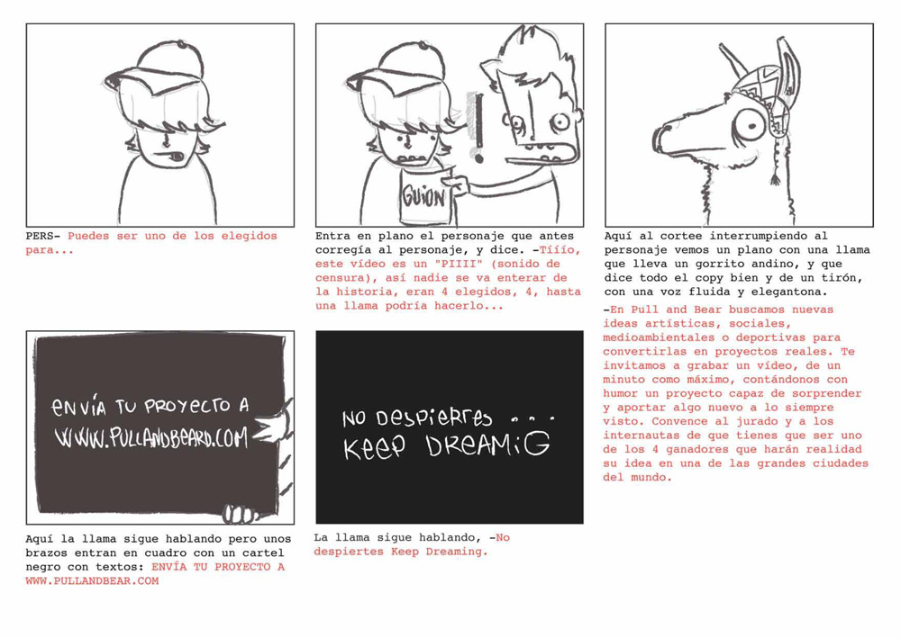 PULL&BEAR World Project Storyboard